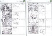 Odin Summon FFVII Storyboard