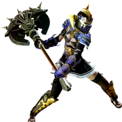 Marauder render for <i>Final Fantasy XIV: A Realm Reborn</i>.