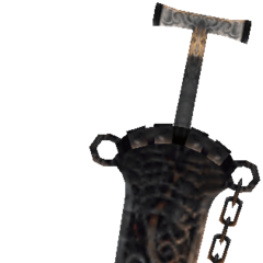 Sword used by Braska's Final Aeon.