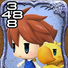 Bartz and Boko from <i>World of Final Fantasy</i>.