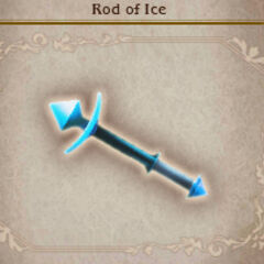 Rod of Ice from <i>Bravely Default</i>.