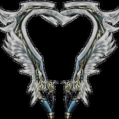Lightning's Zantetsuken swords.