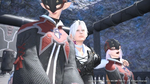 UFFFXIV Thancred with Girls