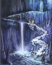 Ice Cavern FFIX Art 3
