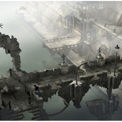 CG artwork for Alexandria Castle by Jake Rowell.
