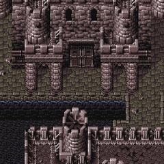 Doma Castle (SNES).