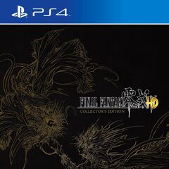 <i>Final Fantasy Type-0 HD</i> North American Collector's Edition<br />PlayStation 4