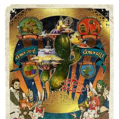 Gold Saucer poster.