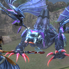Bahamut enters Gestalt Mode.