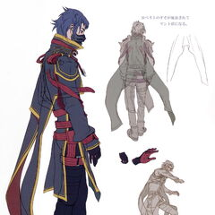 Concept artwork of Kurasame.