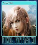 FFXIII Steam Card GranPulse