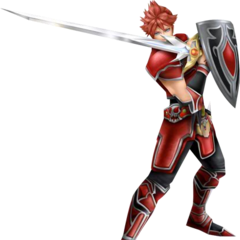 The Warrior's third outfit in <i>Dissidia 012 Final Fantasy</i>, based on the NES Fighter.