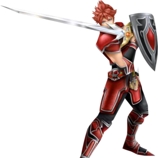 The Warrior's second alt outfit.