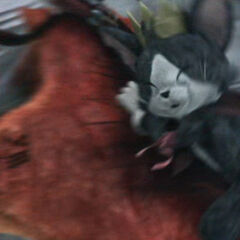 Cait Sith in <i>Final Fantasy VII: Advent Children</i>.