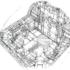 Shinra No 26 Cockpit.