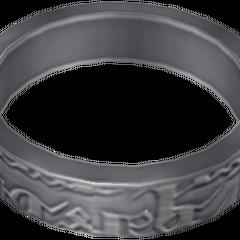 Game model of Ashe's wedding ring.