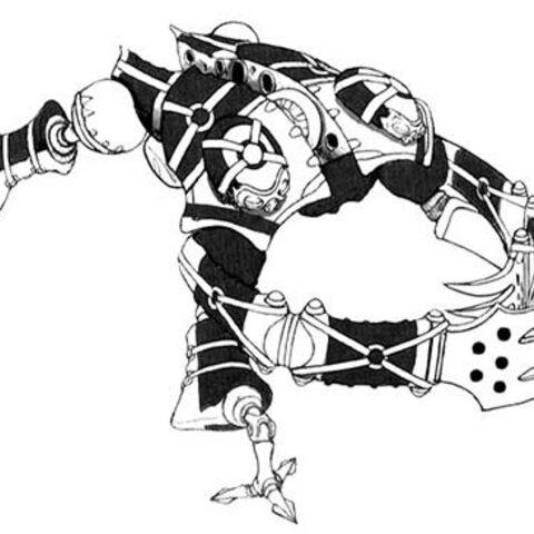 Concept art of Mech Hunter.