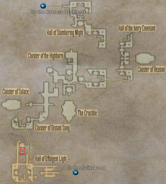 FF12 Map - Necrohol of Nabudis