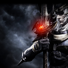 Promotional artwork of the Warrior of Light.
