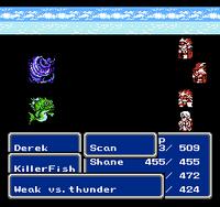 FFIII NES Scan