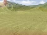 FFIV DS Desert Battle Background