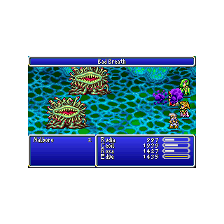 Bad Breath in the GBA version.