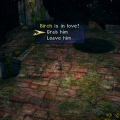 Monkey minigame in <i>Final Fantasy X-2</i>.