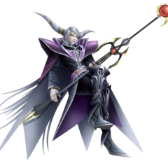 Emperor's <i>Final Fantasy Origins</i> render from <i>Dissidia 012 Final Fantasy</i>.