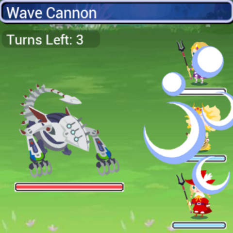Wave Cannon.
