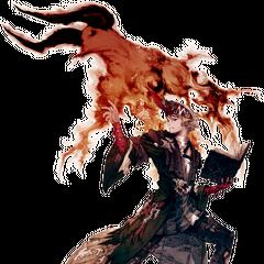Artwork of <i>Final Fantasy XIV</i> Summoner.