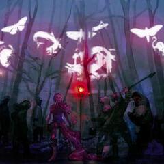 Concept artwork of the Children of Etro's ritual.
