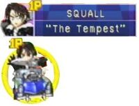 Squall in Chocobo Racing