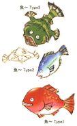 Eiko's Fish FFIX Art