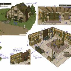 Banora Village concept art.
