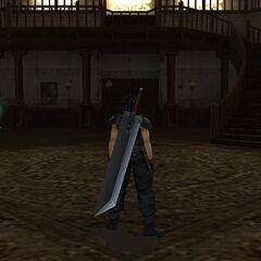 Inside the main lobby in <i><a href=