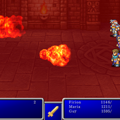 Fire VI from <i>Final Fantasy II</i> (iPod).