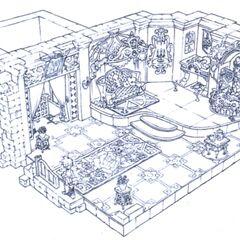 Alexandria Castle Brahne's Room.