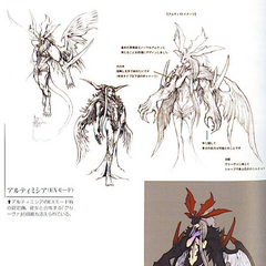 EX Mode Concept art.