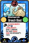 Bismarck Breach Blast