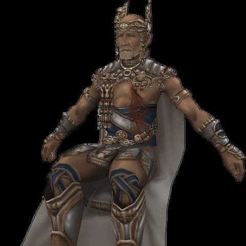 Raminas's in-game model.