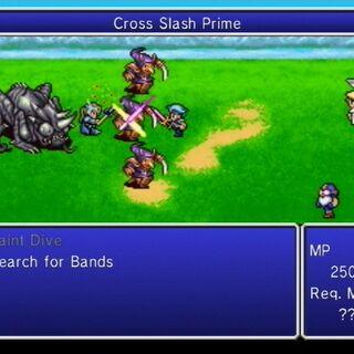 Cross Slash Prime.
