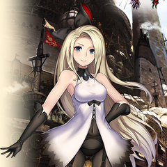 Edea in her new outfit.