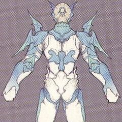 Concept art of Kain's second outfit EX Mode.