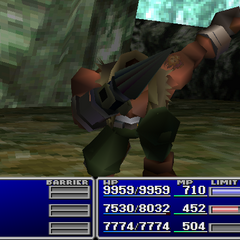 Barret using Sense.
