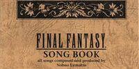 """Final Fantasy Song Book """"Mahoroba"""""""