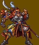 Gilgamesh tal y como aparece en Final Fantasy 20th Anniversary Edition.