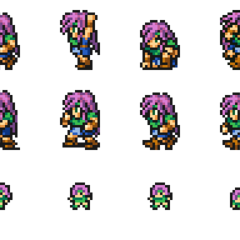 Set of Faris's Freelancer sprites.