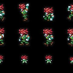Set of Amarant's sprites.