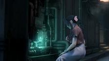 Aeris investiga una tubería de Mako rota.