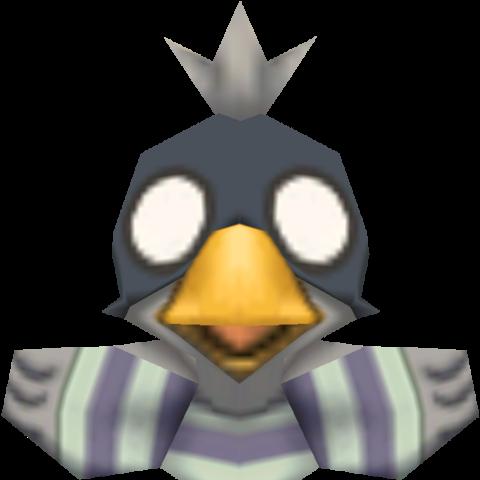 Jailbird render.